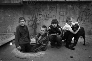 134 300x200 Homeless Children Suffering In Russia