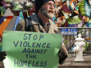 149 Sounding alarm on violence on homeless