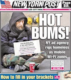 186 Homeless people turned into walking WiFi hotspots in charitable experiment