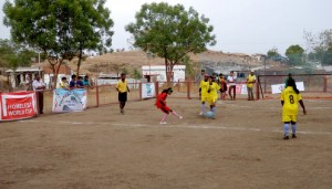Girls India training12 300x171 FIRST WOMENS NATIONAL SLUMSOCCER CHAMPIONSHIP IN INDIA