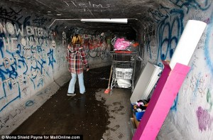 article 2266225 1714CBA4000005DC 552 634x418 300x197 Inside the dark and dangerous sewer homes made by vagrants in the drainage tunnels beneath the glitz of Las Vegas