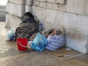australia homeless people 300x225 Campaign urges Melbourne authorities to stop issuing fines to homeless people