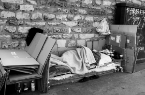 "homeless2 550x363 300x197 ""Public outrage"" causes city to postpone $10,000 fine for homelessness"