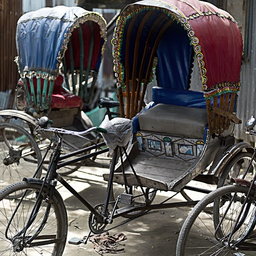 tuk tuk Rickshaw at Madartek