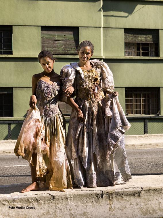 Fashion shoot by Martijn Crowe