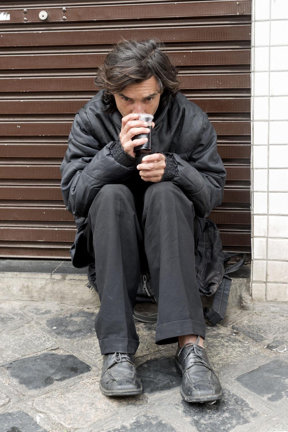 Homeless Curitiba by Martijn Crowe